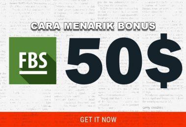 (BERHASIL) Cara Menarik Bonus $50